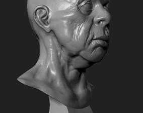 deco Male Head 3D