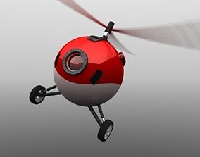 3D model AMIEE The Flying Webcam