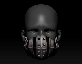 Quarantine Mask Izuku Deku Mask Style 3D printable model