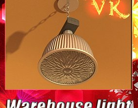 3D Industrial Light Fixture