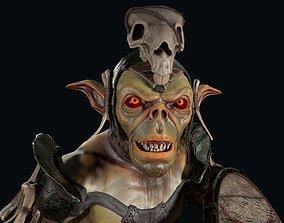 Goblin 1 3D asset