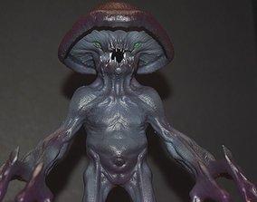 3D printable model Myconid - Fantasy Miniature