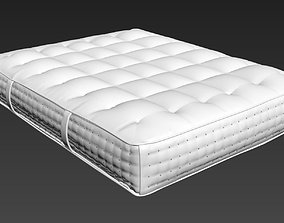 3D Realistic Spring Bed modelfurnishings
