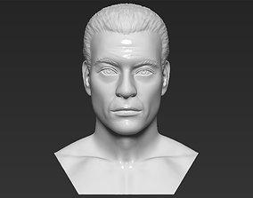 Van Damme Kickboxer bust 3D printing ready stl obj 1