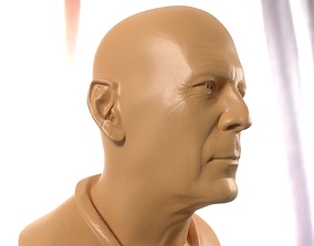 Bruce Willis printable bust