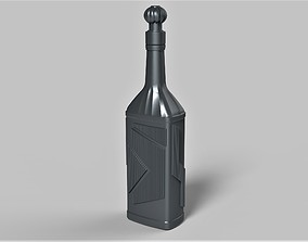 Klingon blood wine bottle from Star 3D printable model 3