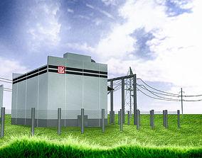 LEP power station 3D model
