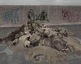 3D model rubble 022 am165