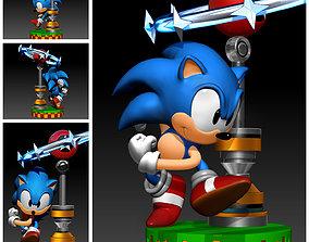 character Sonic The Hedgehog 3DPrint