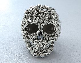 3D printable model Skull Ring Women Bodies fashion-ring