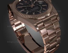 3D Rolex Sky-Dweller watch 326935