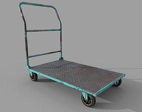 3D model Old Platform Trolley A
