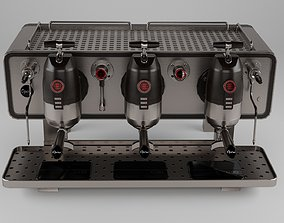 coffee machine SANREMO OPERA 2 3D asset