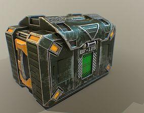 3D model Sci-fi ammo box