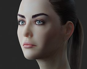 girl Female Head model