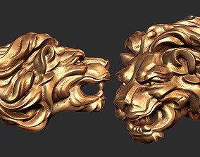 lion clamp 3D printable model