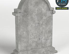 3D model Tombstone 4