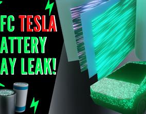 BFC Tesla BATTERY DAY CELL Leaked Version 3D asset