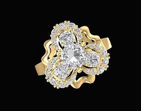1475 Diamond Ring 3D print model