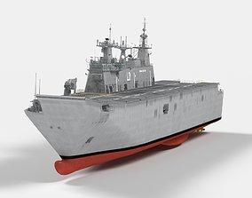 HMAS Adelaide Canberra Class LHD 3D