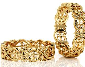 3D print model Ring Band R BA 0036