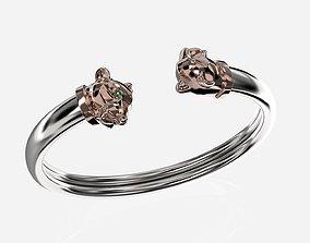 Panthere bracelet multiple sizes 3D printable model