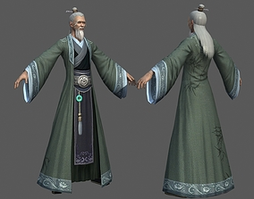 3D model Ancient Chinese Immortals Old man The Old Fairy