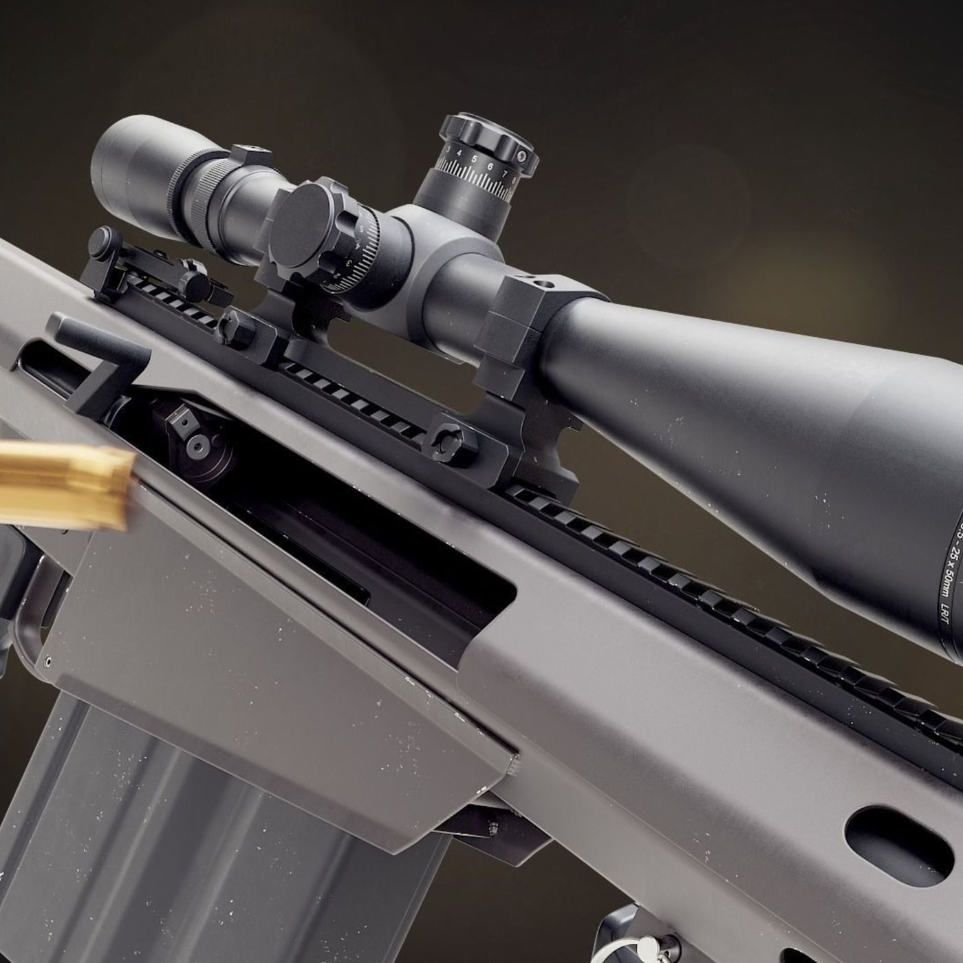 Barret M82A1 sniper rifle