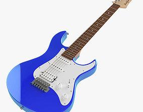 Electric Guitar 3D model pac