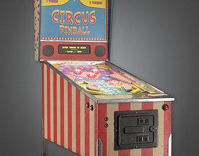 Pinball Machine - RAC - PBR Game Ready 3D model
