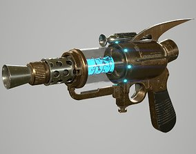 3D model Retro Style Ray Gun