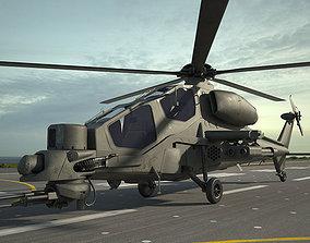 Agusta A129 Mangusta army 3D model