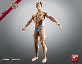 Sport Man A 3D model