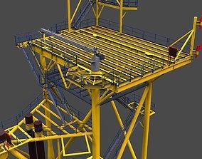 50 lean to platform 3D model