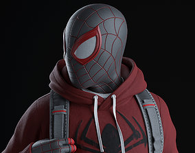 Spider-Man Miles Morales - Statue 3D print model