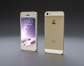 IPHONE 5S iphone 3D model VR / AR ready