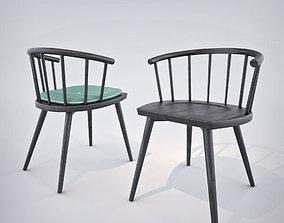 3D model Billiani W Chair