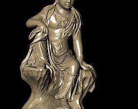 printable 3D printable model The Bodhisattva
