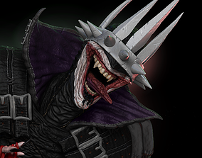 dark Batman Who Laughs 3D print model