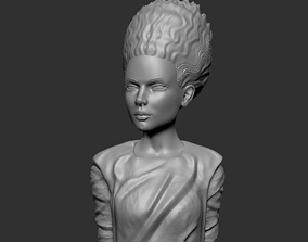 Bust - Bride Of Frankestein 3D print model