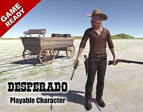 3D asset Western Desperado