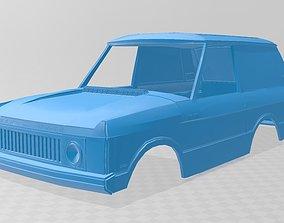 Range Rover Dakar Body Car 3D print model automotive
