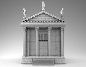 3D print model olive Ancient Greek Temple