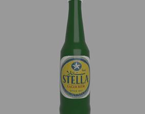 3D model Stella beer