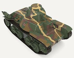 Tank Type 95 Ha-Go 3D asset
