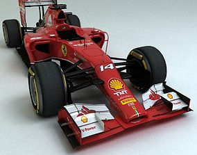 2014 Ferrari F14T 3D model