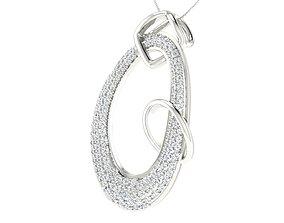 Women pendant earrings set 3dm stl mgx 2