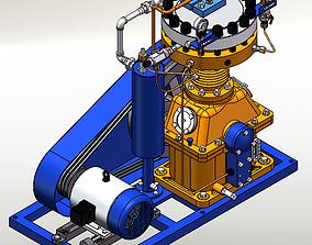 3D Diaphragm compressor