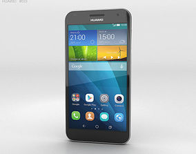 3D model Huawei Ascend G7 Black