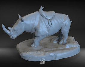 Stone horns Rhino 3D print model